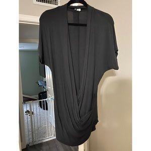 Black Helmut Lang Top Size L